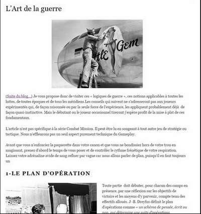 article art de la guerre