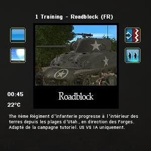 roadblock scénario