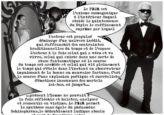 Karl Lagerfeld Combat Mission