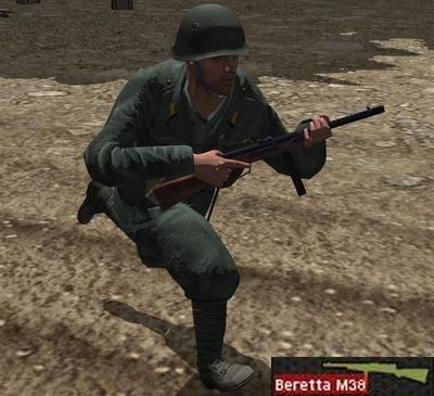 Beretta M38