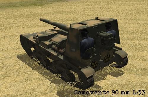 Semovente 90 Combat Mission