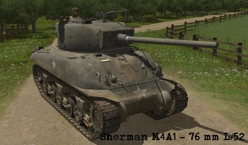 Sherman 76 combat mission