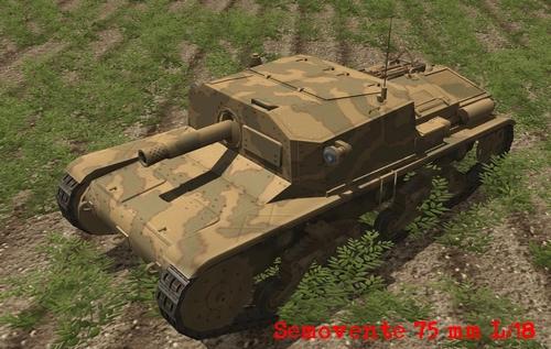 semovente 75 Combat mission