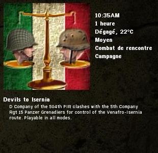 Devils to Isernia