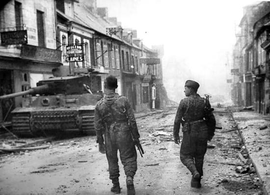 rue Villers Bocage combat mission
