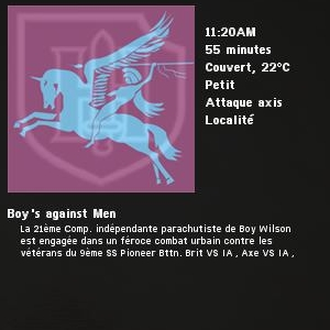 Boy's against Men