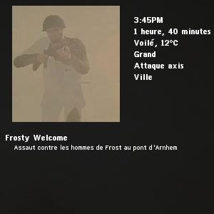 Frosty Welcome
