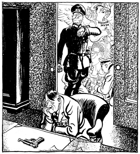 Hitler la fin