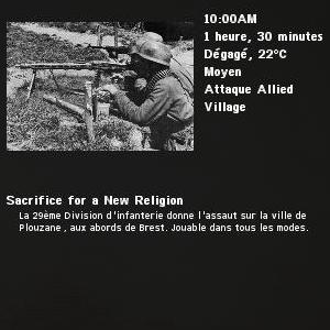 Sacrifice for a New Religion