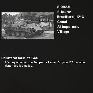 counterattack at son