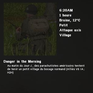 Danger in the Morning