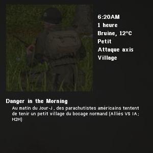 Danger in the Morning