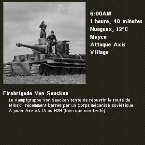Firebrigade Von Saucken