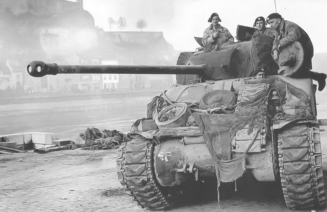Guards' Sherman Firefly