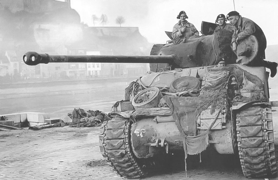 Guards' Sherman Firefly