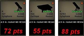 Rockets USA combat mission