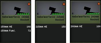 Rockets allemandes