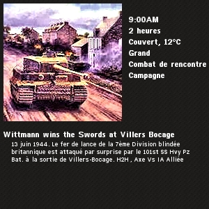 Wittmann à Villers-Bocage