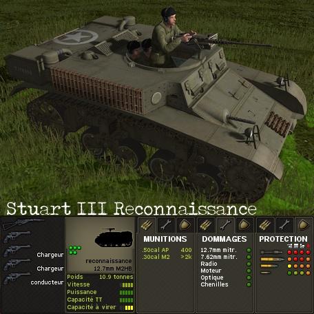 Stuart III Reconnaissance