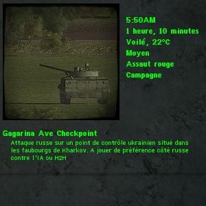 Gagarina Ave Checkpoint