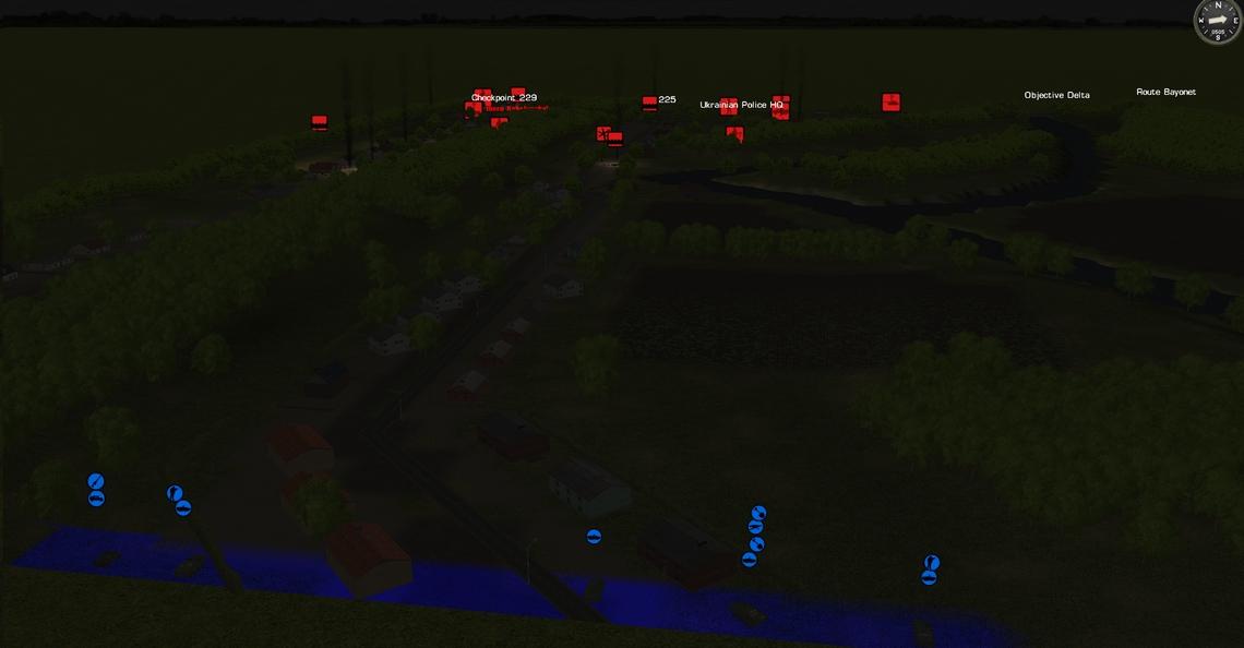 Objective Delta vue bleue