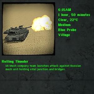 Rolling Thunder Vignette