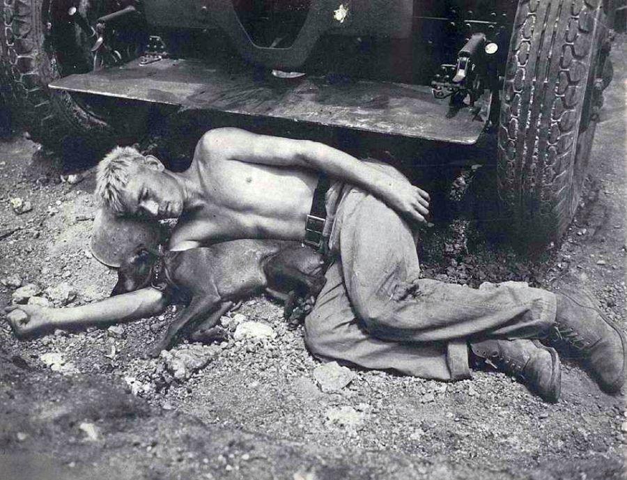 soldat qui dort