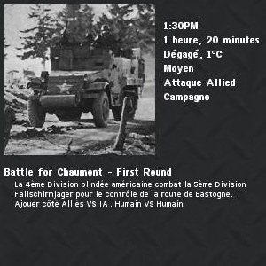 Battle for Chaumont - First Round 1