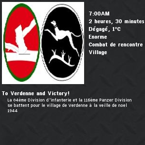To verdenne and victory ! 1